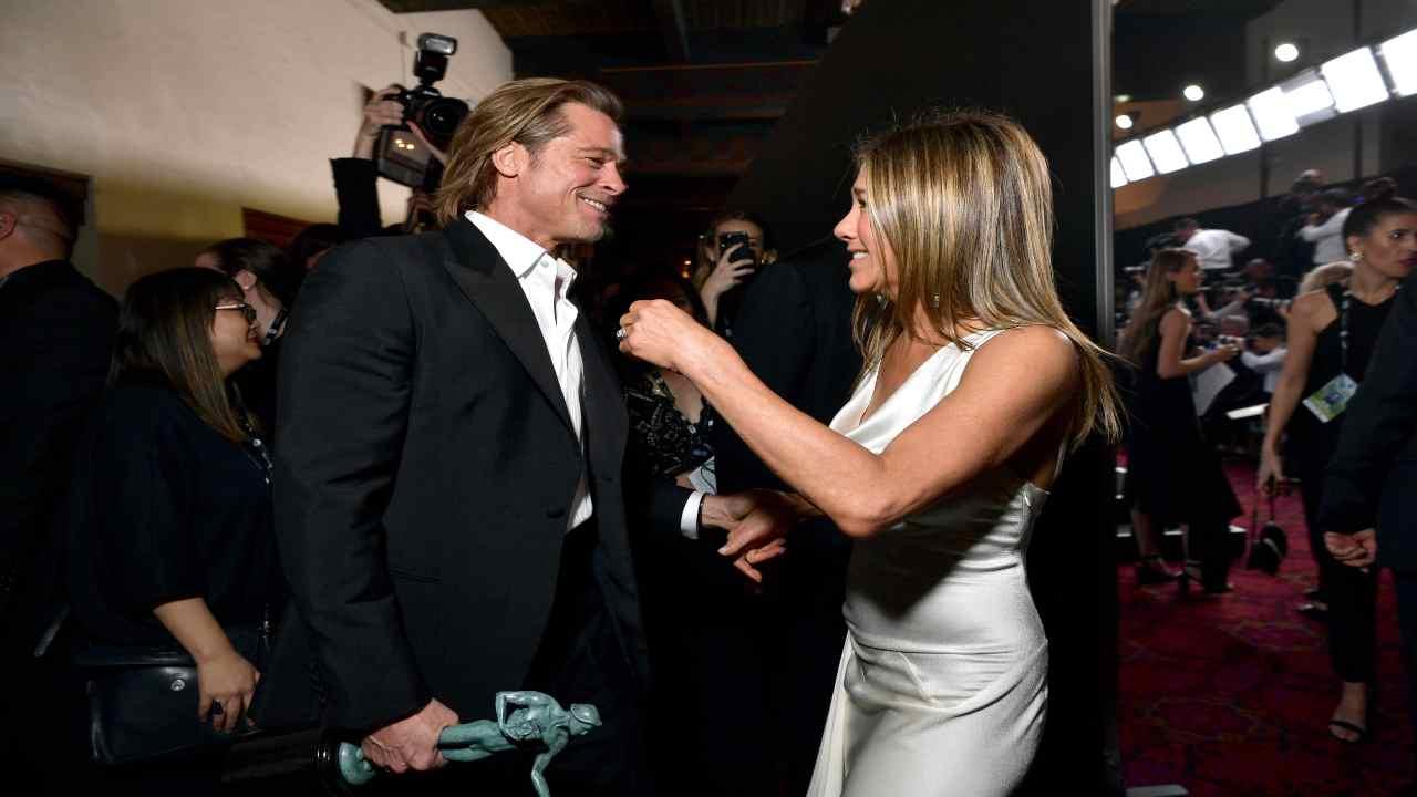 Jennifer Aniston Brad Pitt insieme