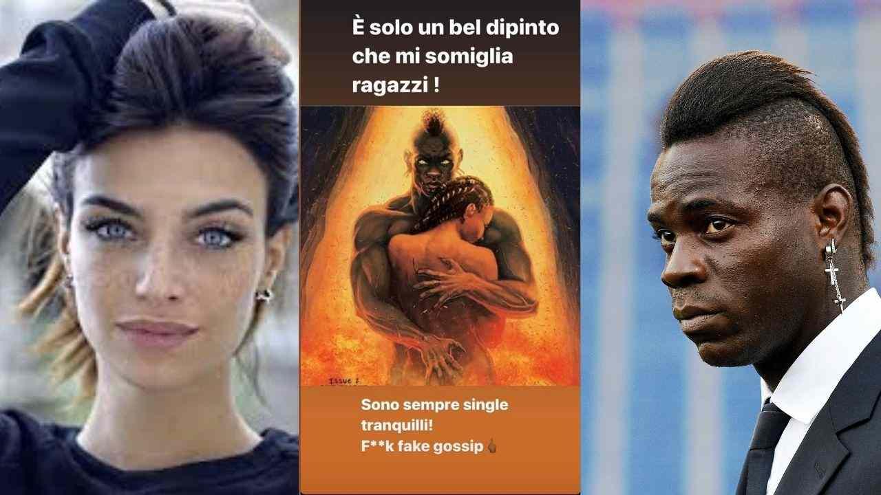Mario Balotelli smentita