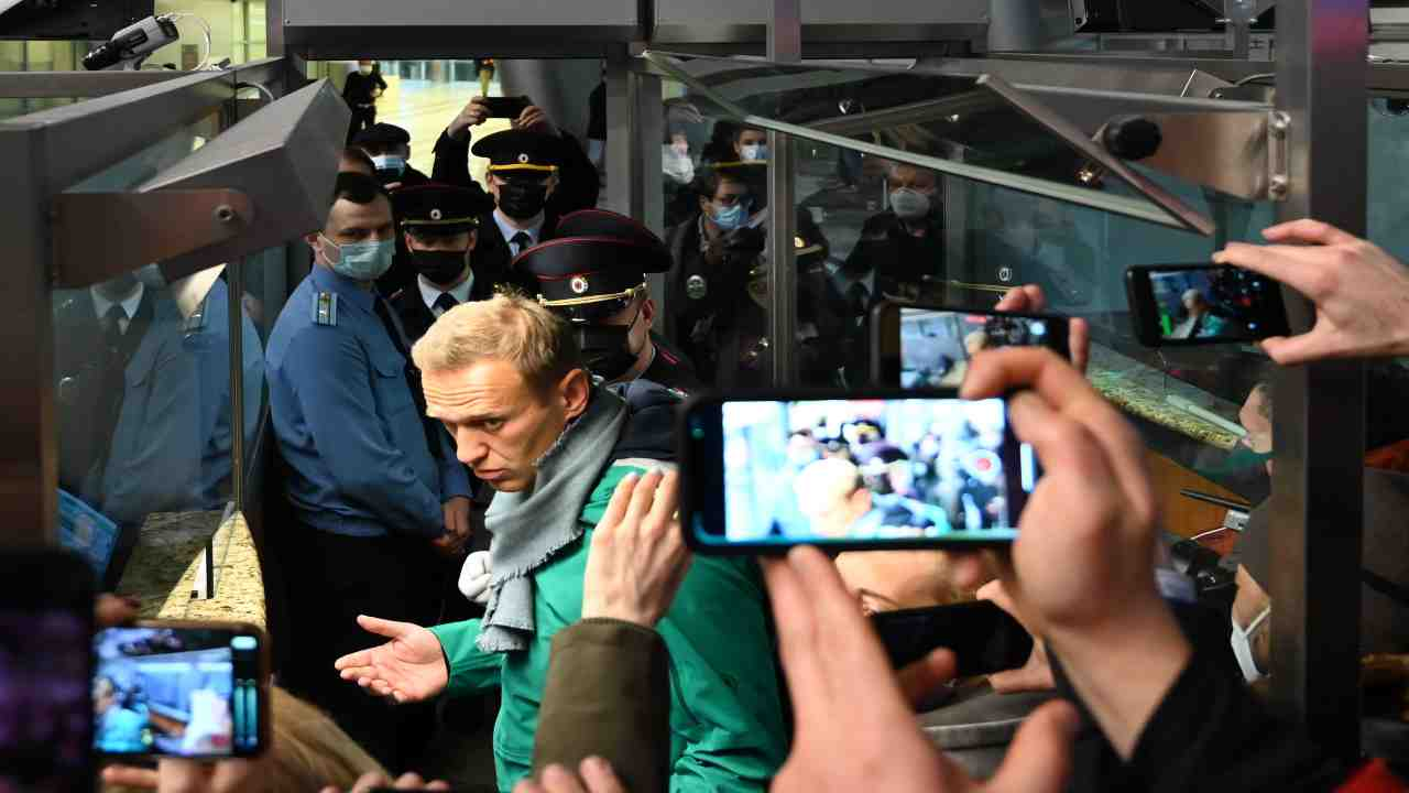 Navalny Russia Putin medico morto