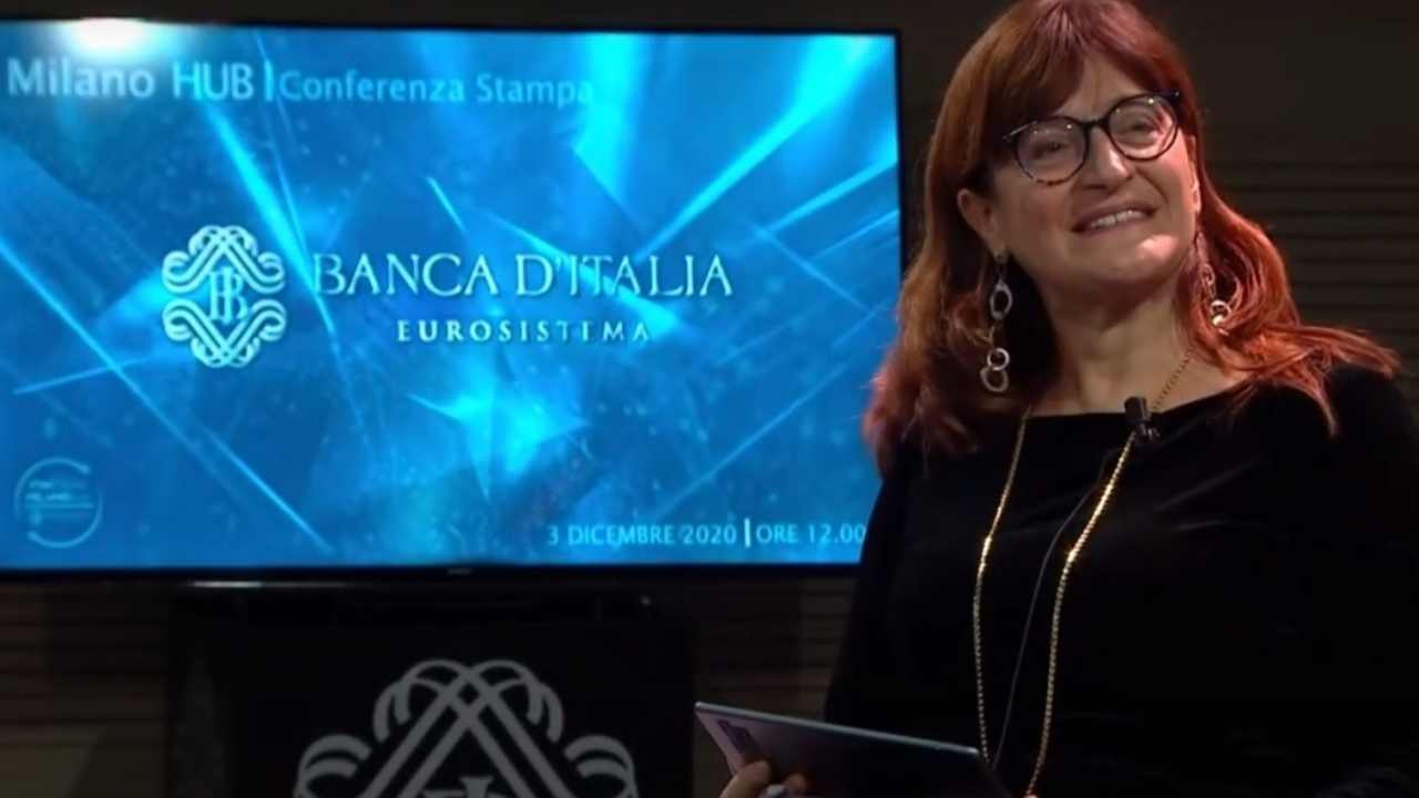 Paola Ansuini portavoce Draghi