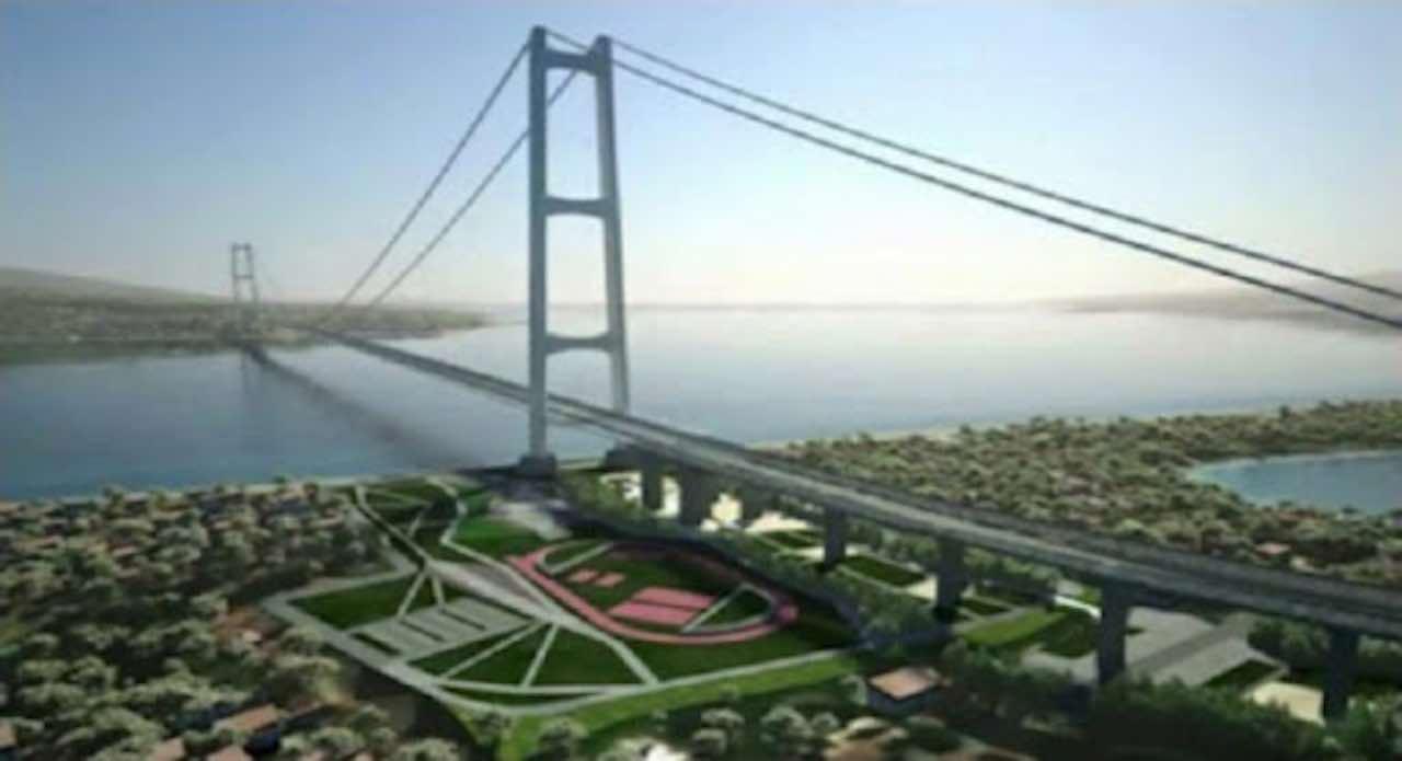 Ponte stretto Messina
