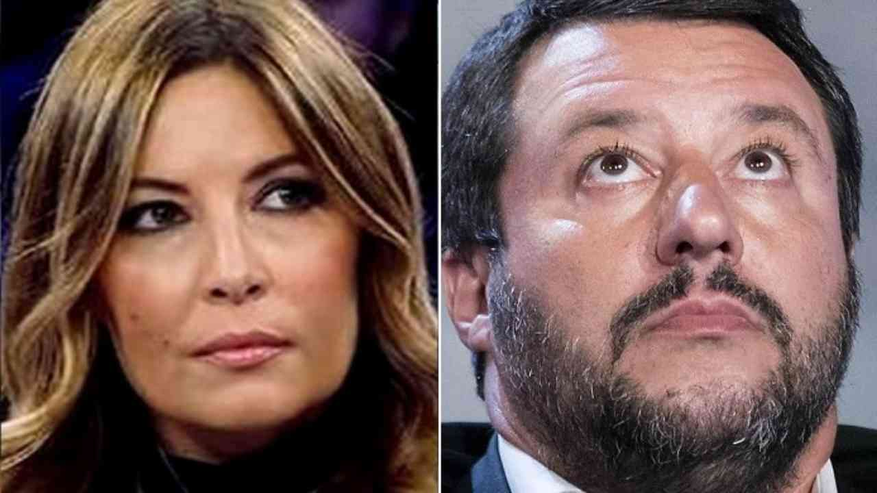 Selvaggia Lucarelli Salvini ristoranti