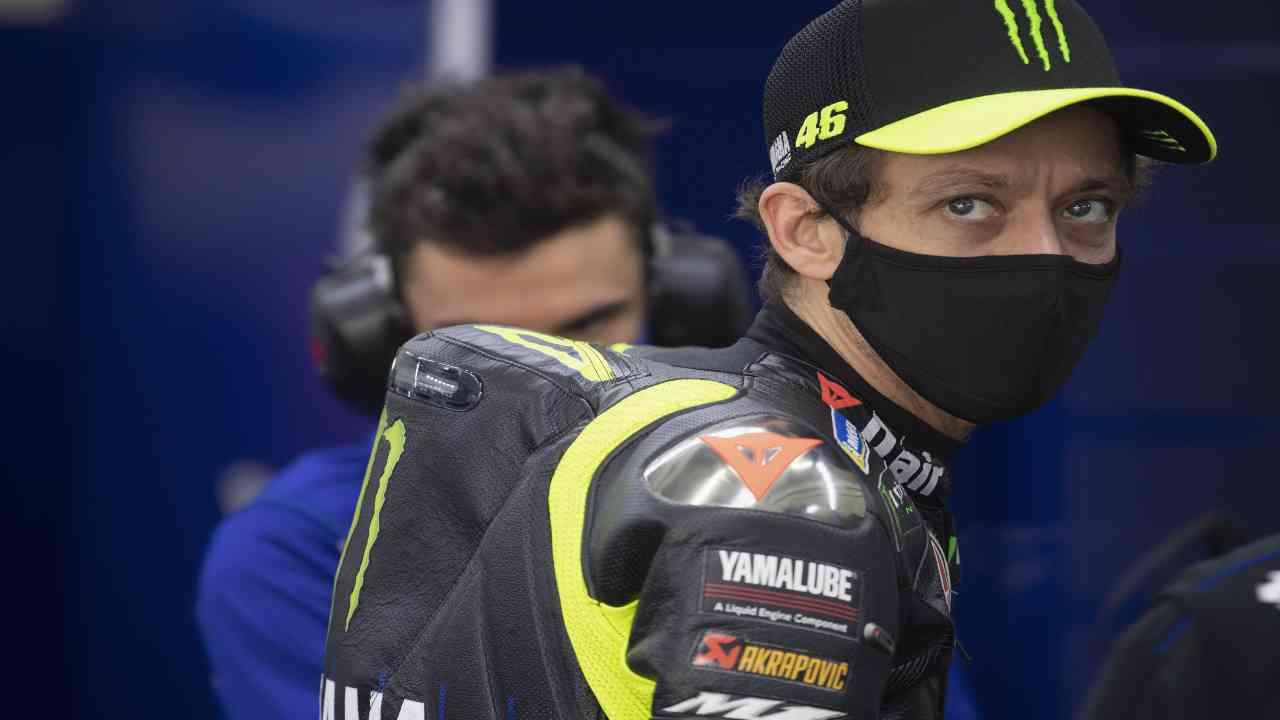 Valentino Rossi ritiro Lucchinelli