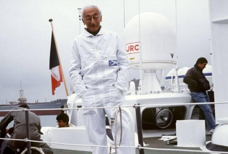 Jacques Cousteau vita