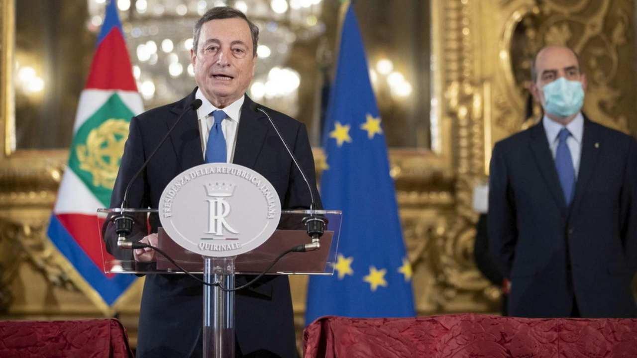 Diretta Mario Draghi