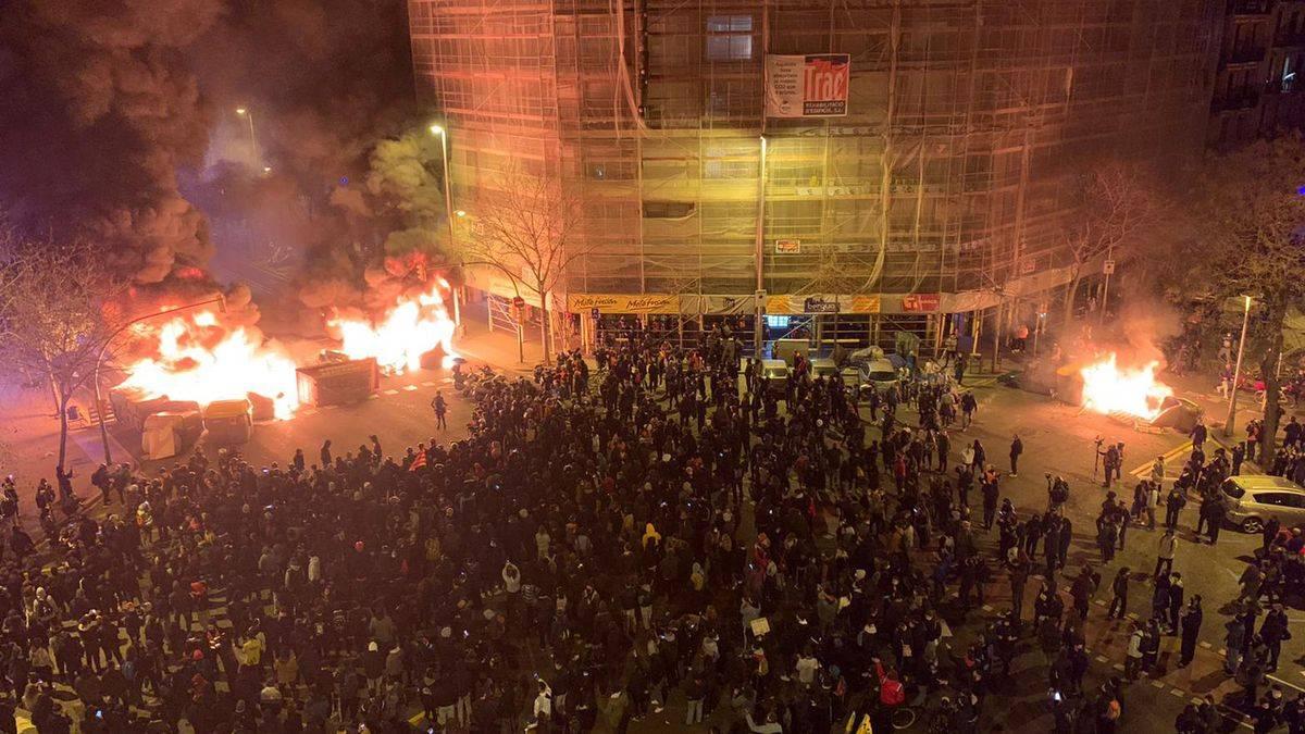 Manifestazioni violente a Barcellona |  Cosa sta succedendo nella capitale catalana?