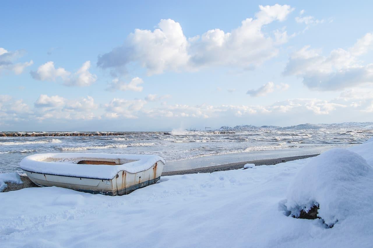 meteo gelo siberiano neve