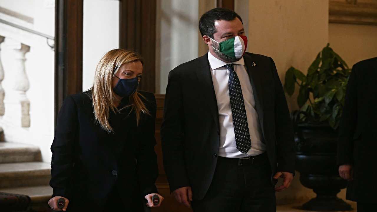 sondaggi Salvini Meloni