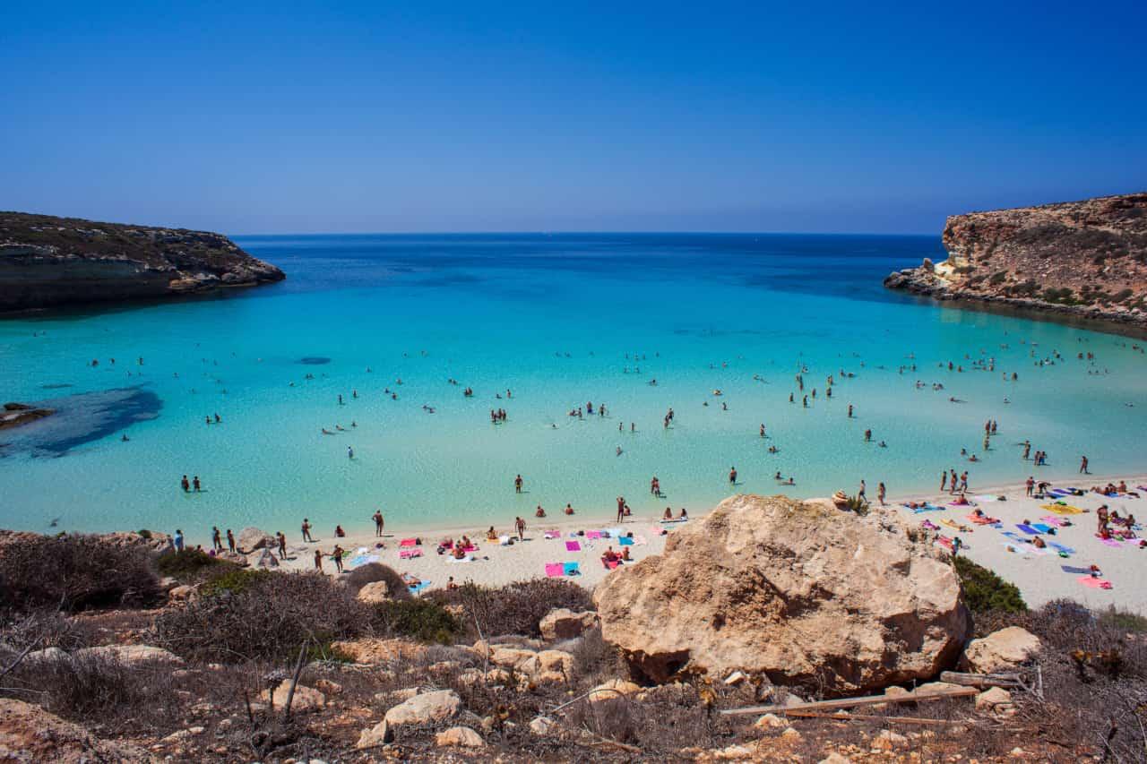 spiagge più belle italia 2021