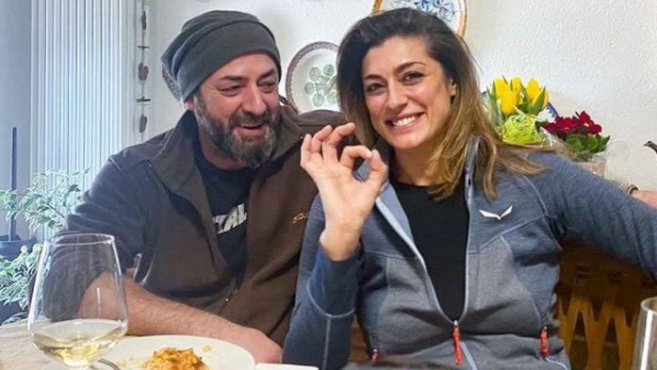 Elisa Isoardi e fratello Domenico