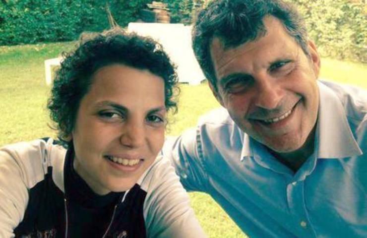Fabrizio Frizzi con Valeria Favorito