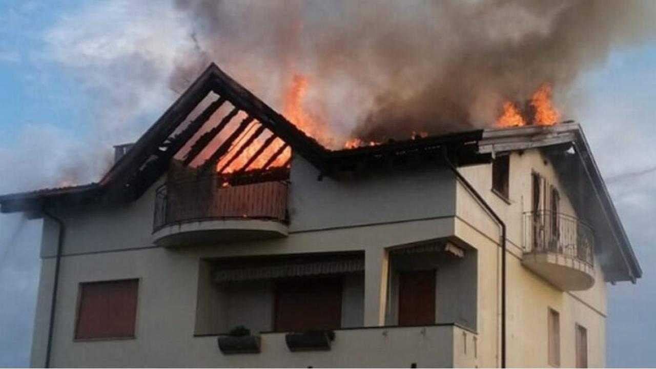 Incendio morte badante Natalia