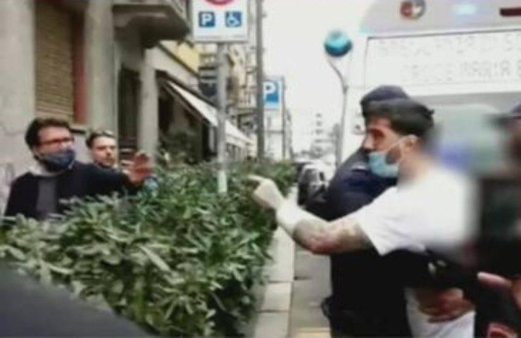 L'arresto di Fabrizio Corona