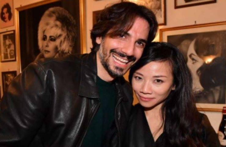 Luca Bastianello e la moglie Kim Vu