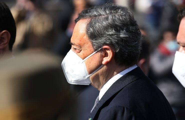 Mario Draghi alla Giornata Nazionale vittime del Covid