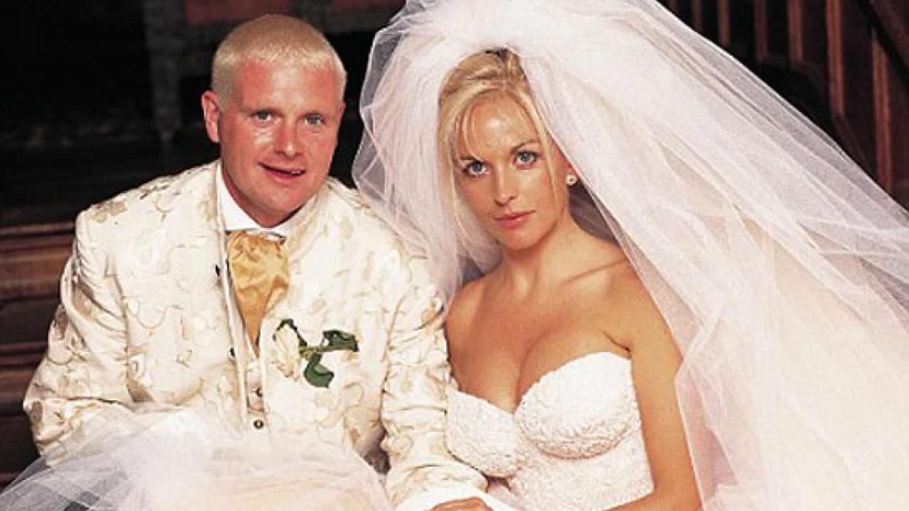 Paul Gascoigne ed ex moglie