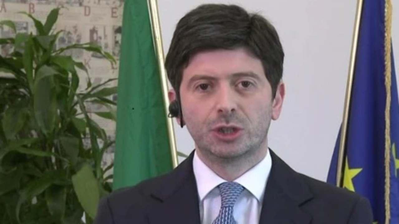 Roberto Speranza vaccino Italia