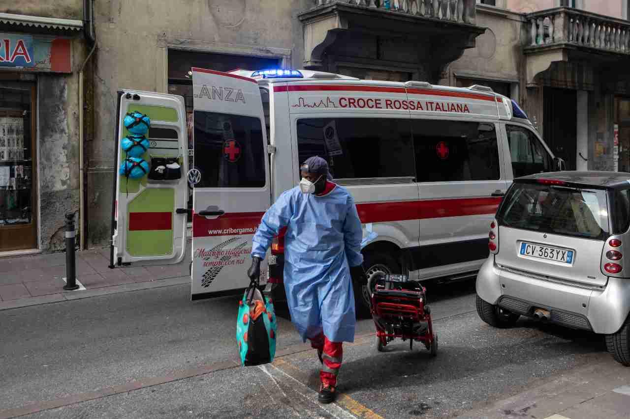 Ambulanza roma ragaza