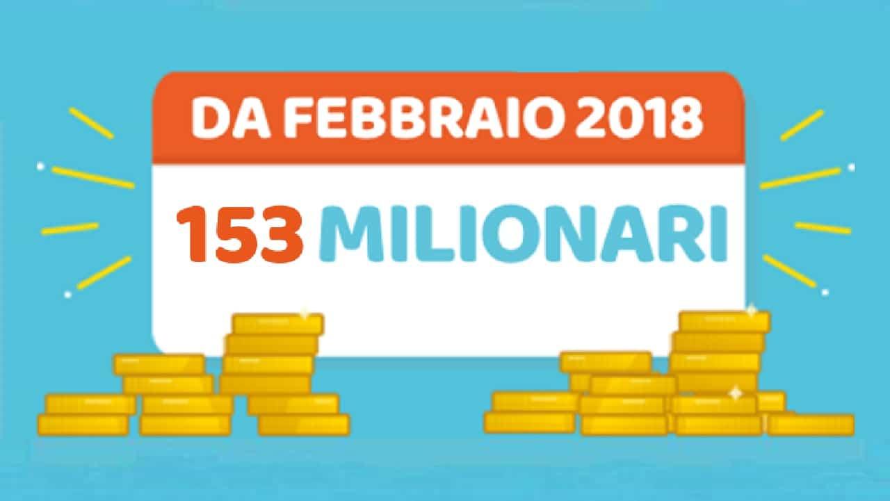 Estrazione Million Day 2 marzo 2021: diretta oggi numeri