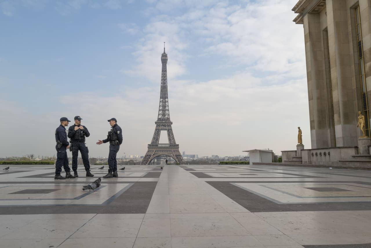 francia lockdown parigi