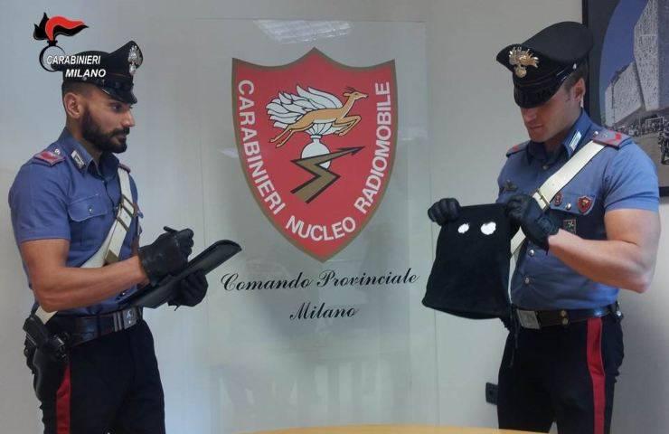 rapina presso Milano