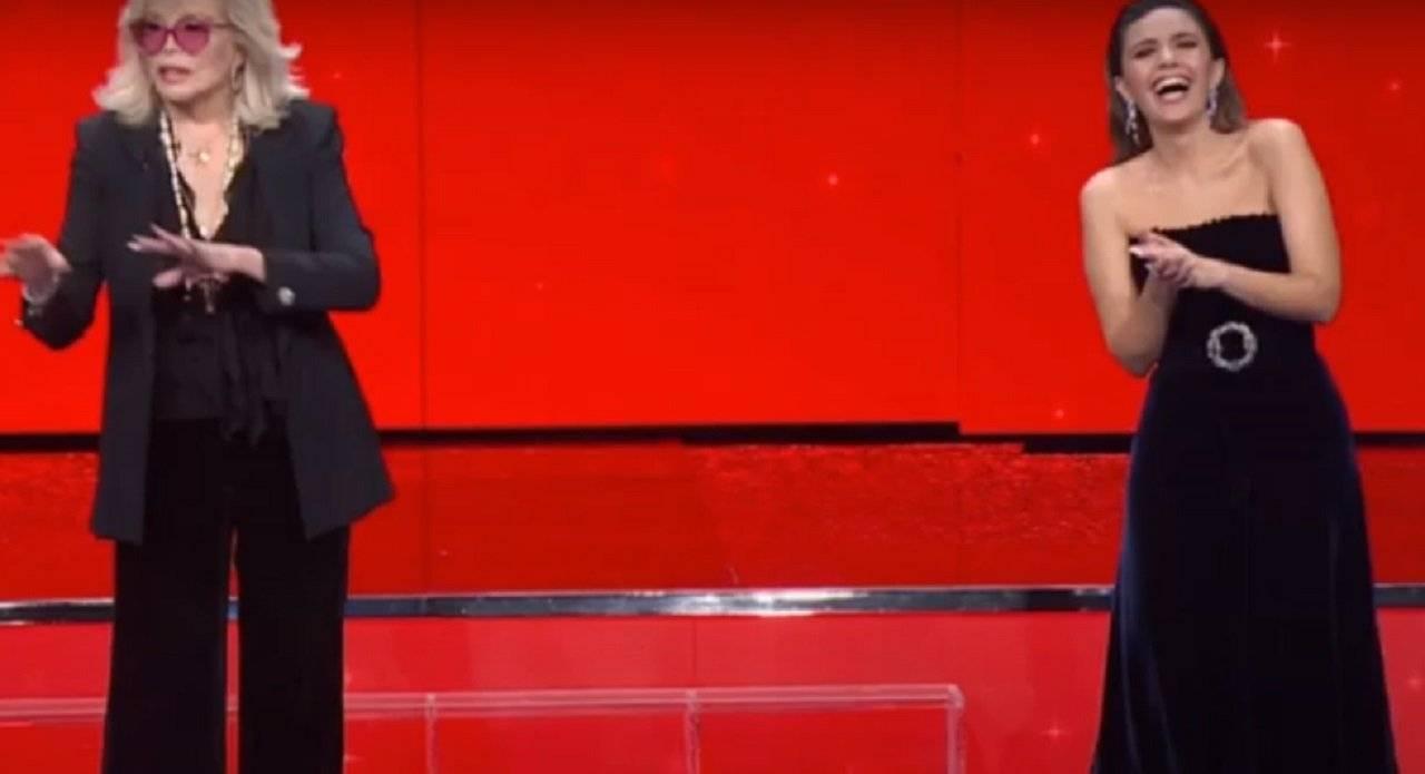 Serena Rossi Amanda Lear