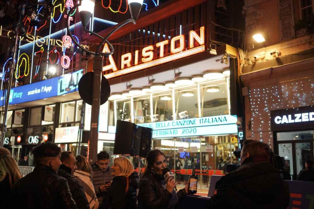 La storia del Teatro Ariston