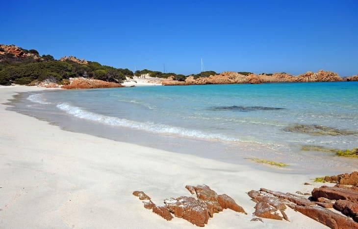 isola budelli spiagge