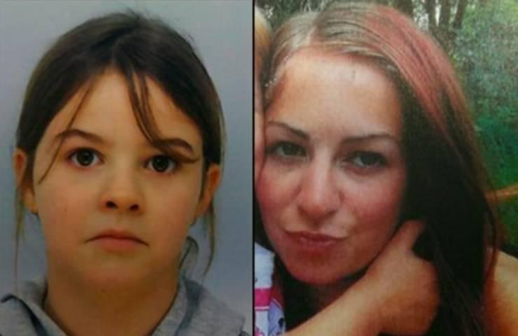 Bambina rapita e sua madre