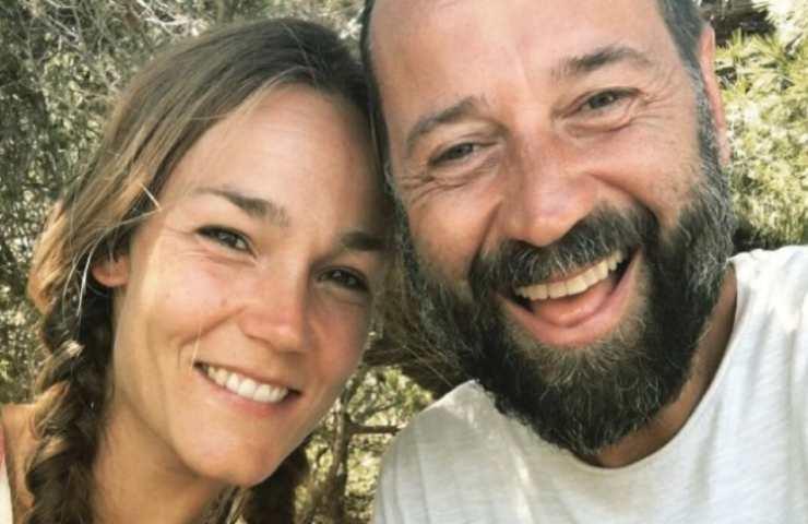 Fabio Volo e Joanna Maggie