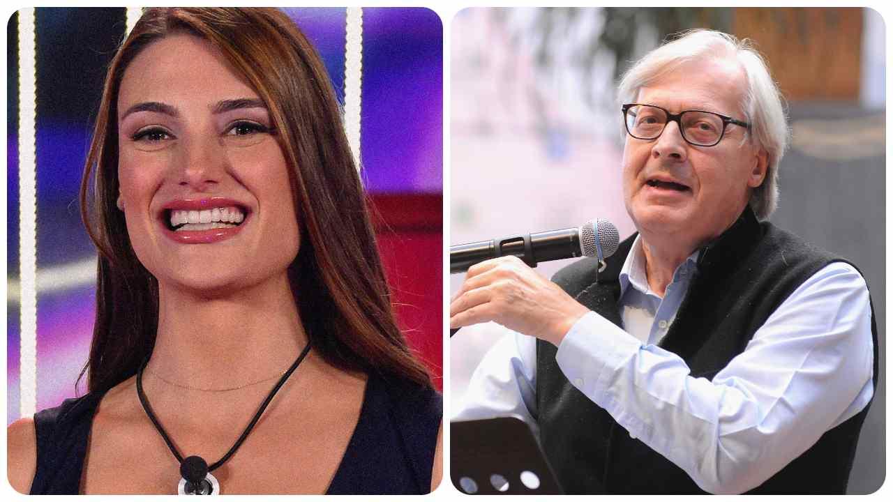 Franceska Pepe e Vittorio Sgarbi