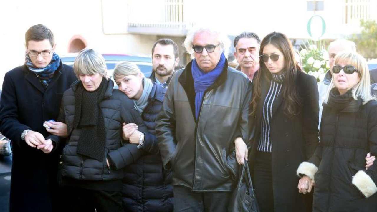Funerale fratello Flavio Briatore