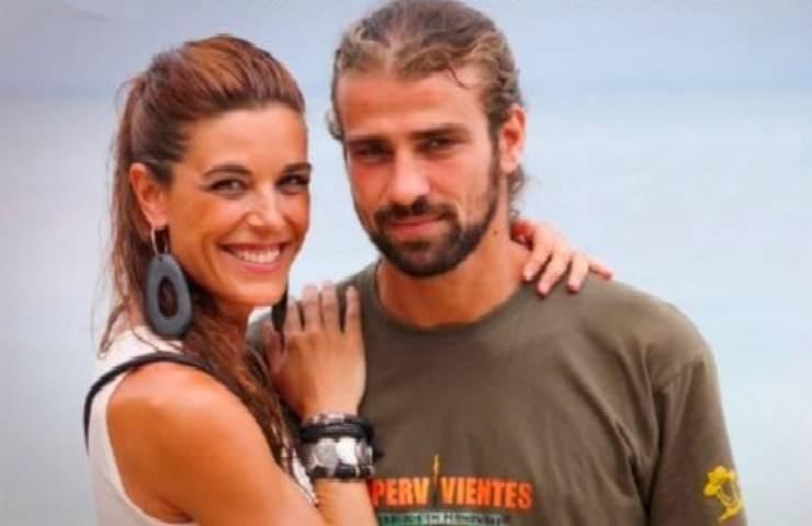Mario Biondo e la moglie Raquel Sanchez