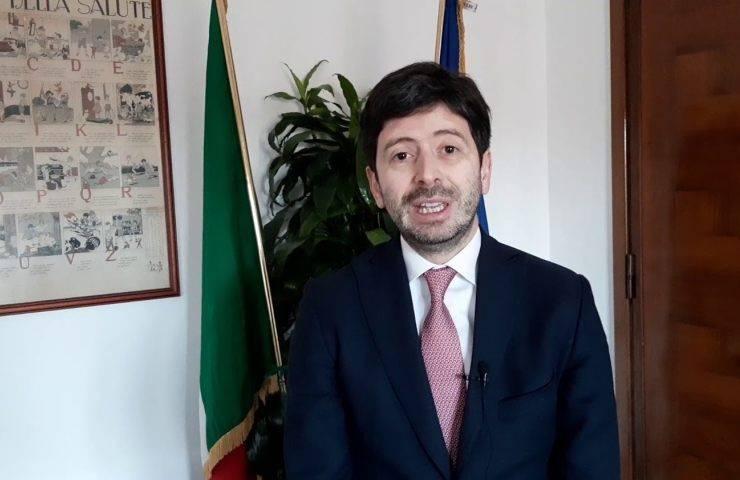 vaccino parla Roberto Speranza