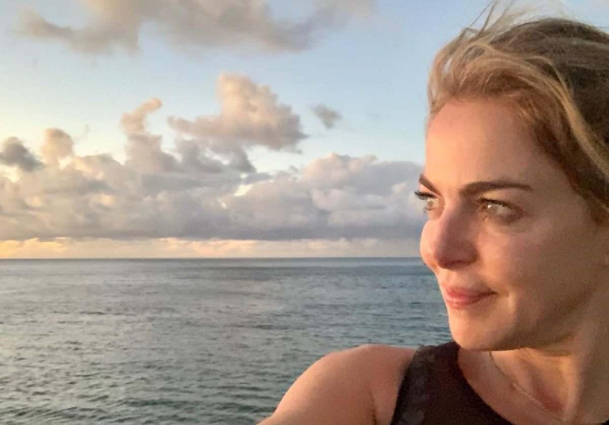 Claudia Gerini Instagram e la voglia di mare