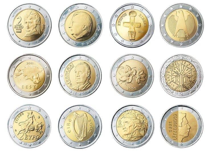 monete da 2 euro