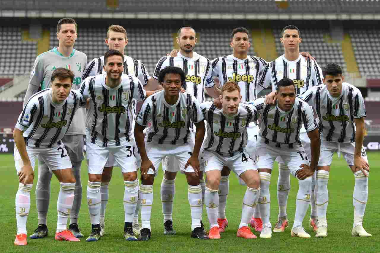 Juventus positivi