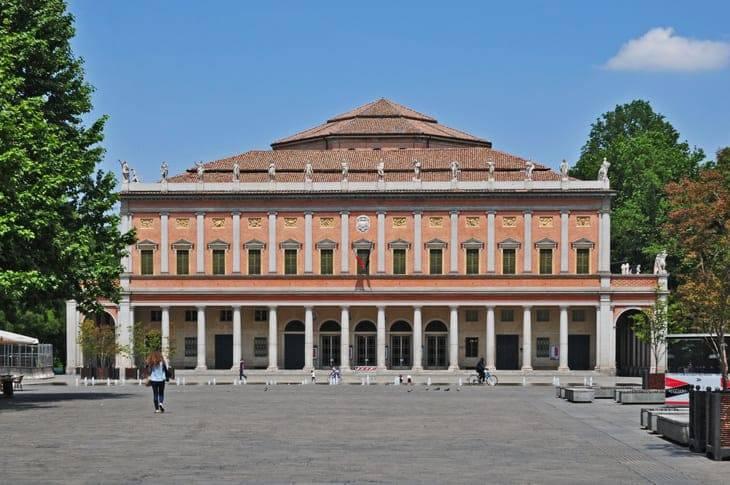 Il teatro Municipale di Reggio Emilia