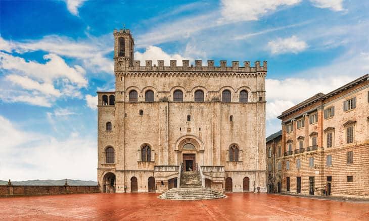 Palazzo dei Pretori a Gubbio