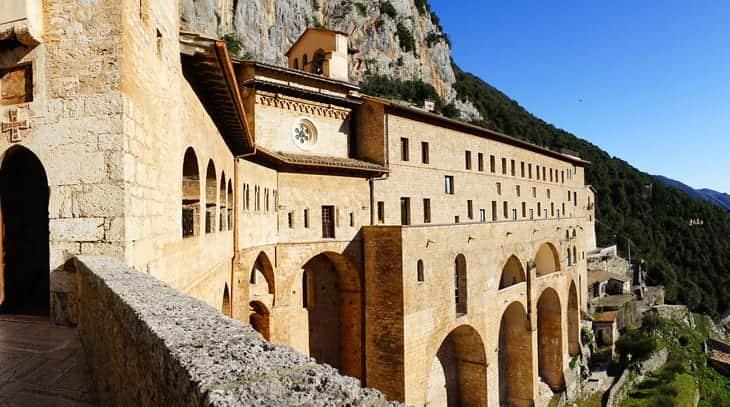 monastero san benedetto subiaco