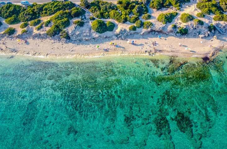 Punta Prosciutto in Puglia