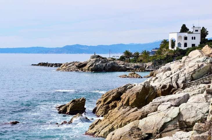 costa di Varazze in Liguria