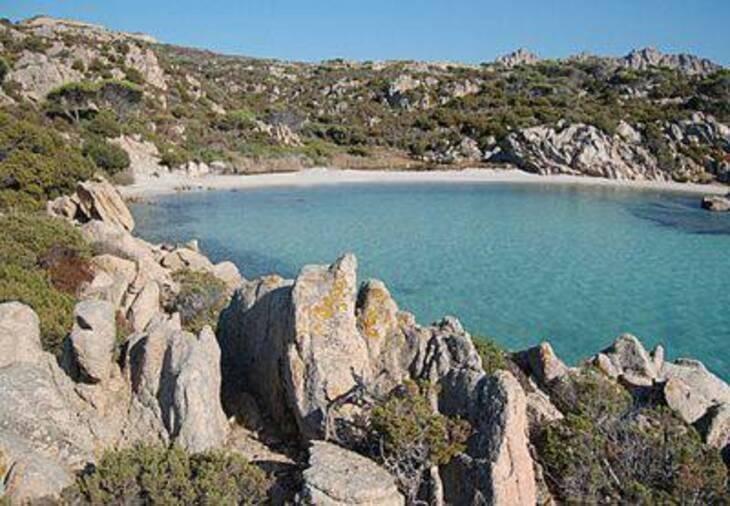 Spiaggia di Cala Serena, Caprera La Maddalena, Sardegna
