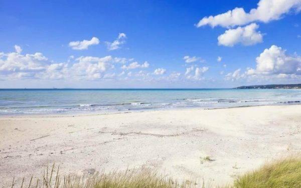 la spiaggia più bianca d'Italia