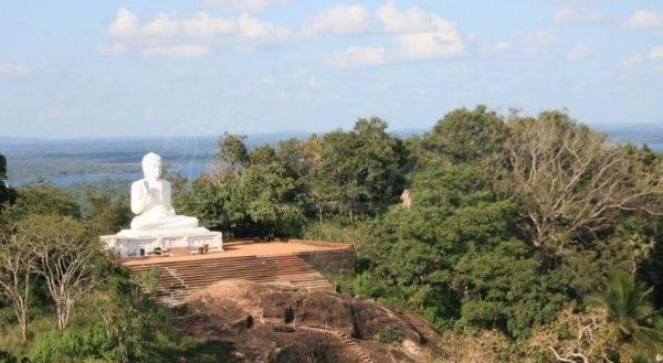 Sri Lanka montagna Mihintale