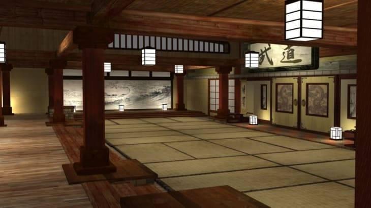 dojo in Giappone