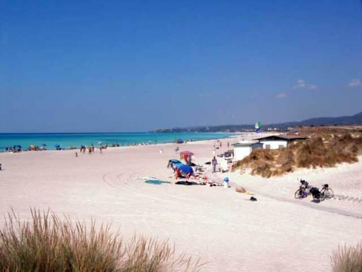 Spiaggia bianca di Rosignano