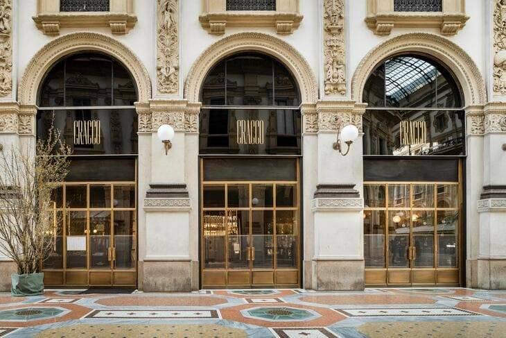 Carlo Cracco il ristorante in Galleria Vittorio Emanuele II