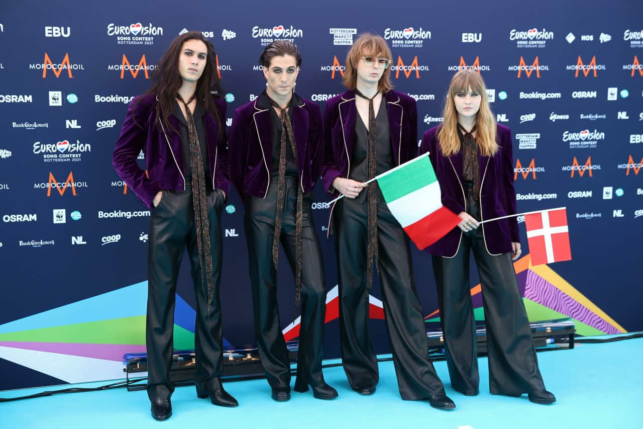 eurovision song contest 2021 dove maneskin