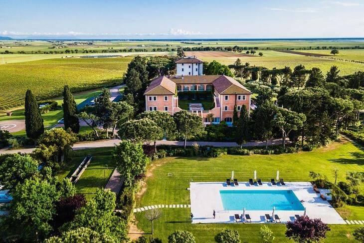 Antana Resort, dove Fedez e Chiara Ferragni